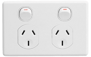 Dual USB Wall Socket Power Point Home Supply Electrical Charger